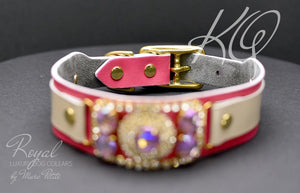 High end dog collar