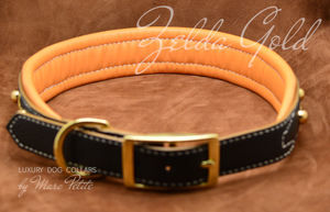 Soft Dog collar for large breeds