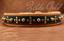 Charger l'image dans la galerie, Extra large leather dog collar