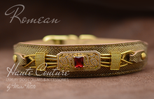 Load image into Gallery viewer, Luxury Dog Collar - Golden