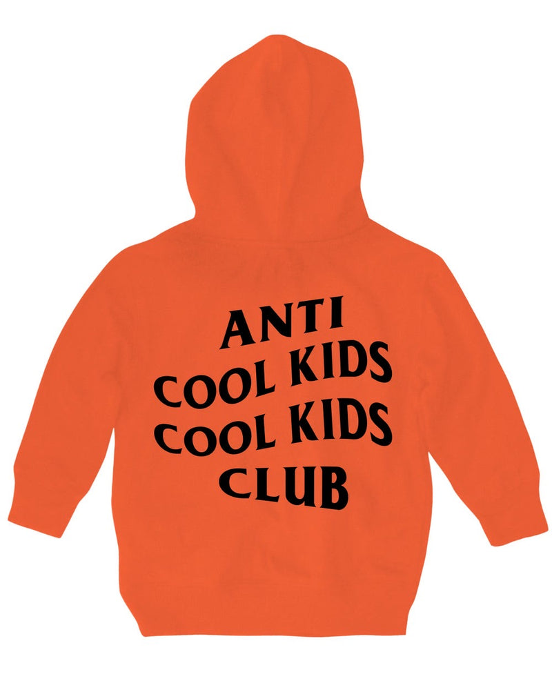 Anti Cool Kids Hood - Orange