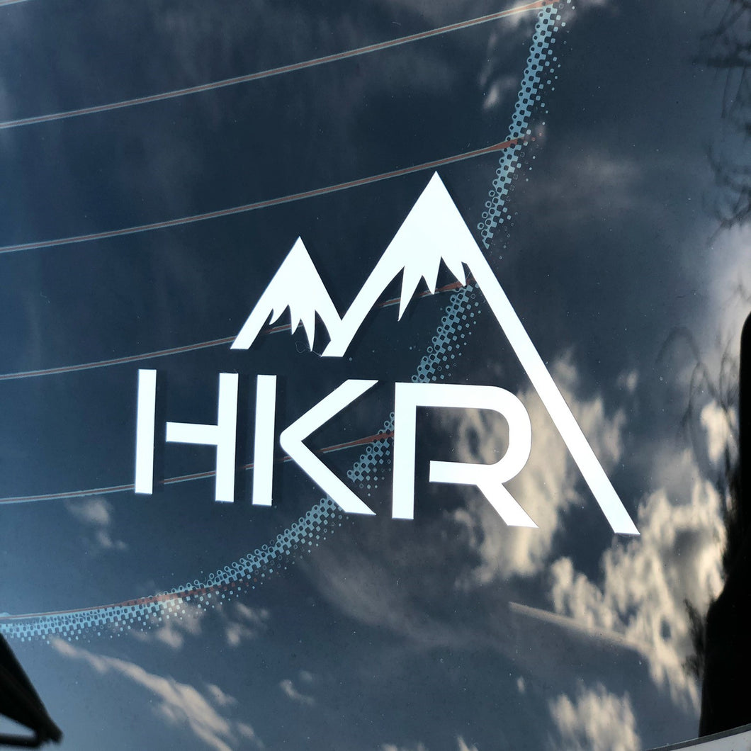 HKR Twin Peak Car Sticker