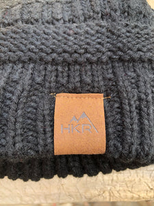 Knitted Beanie - Black