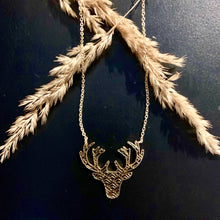 Load image into Gallery viewer, Mountain Deer Necklace