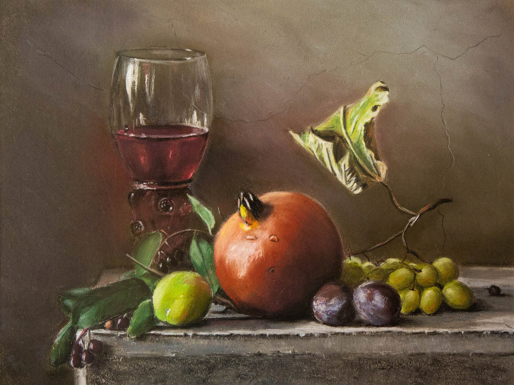 Nature Morte with Pomegranate