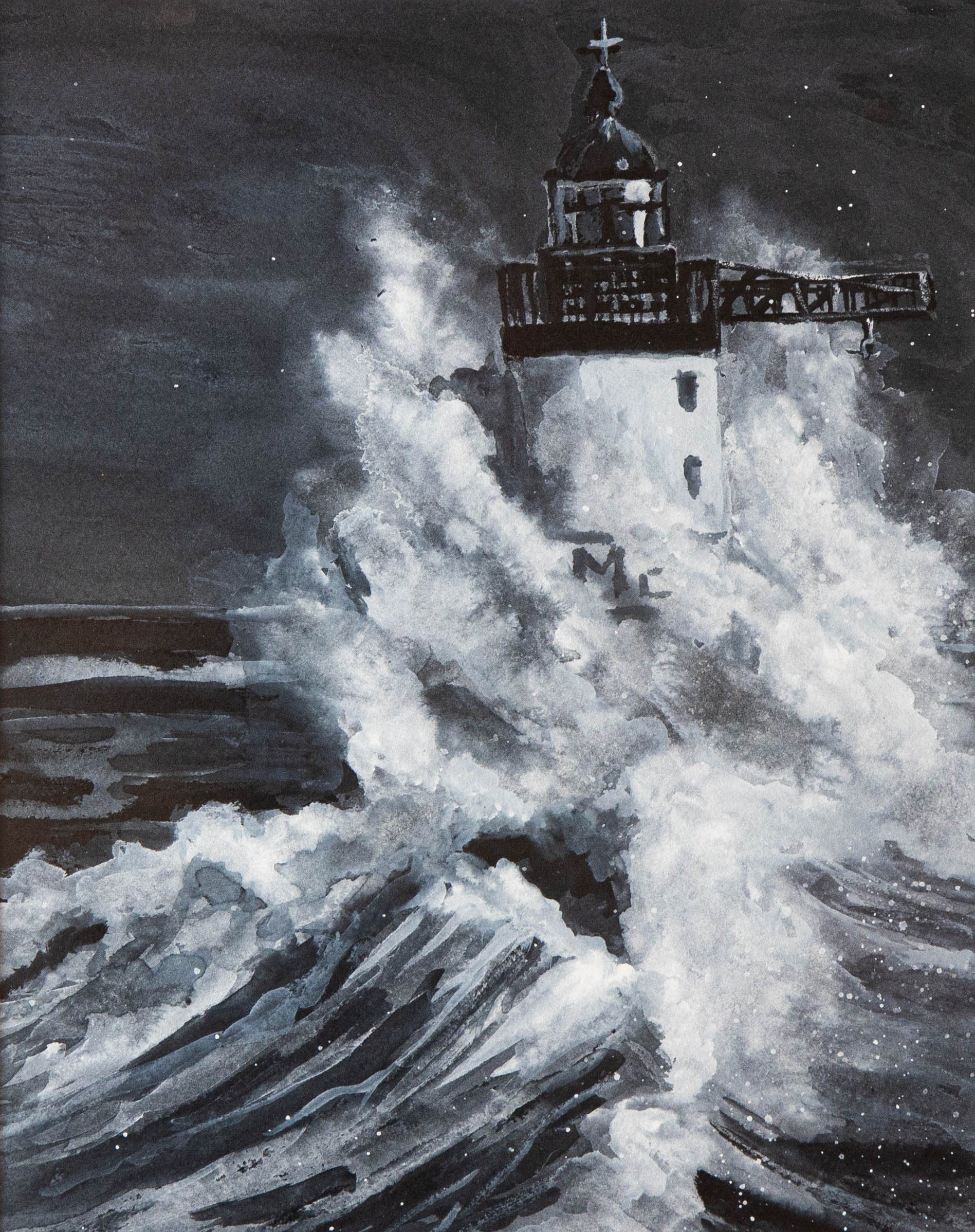 The Lighthouse in Storm