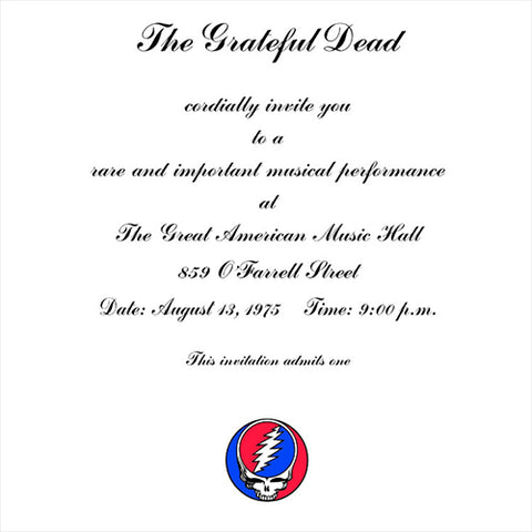 Grateful Dead - One From The Vault - Great American Music Hall (Vinyl 3LP)