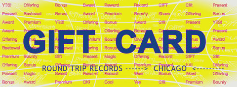 Round Trip Records Gift Card