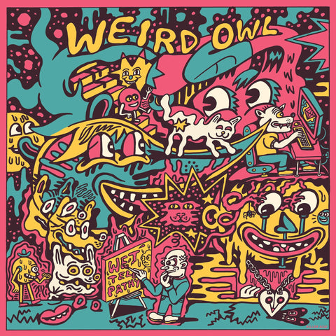 Weird Owl - Wet Telepathy (White Vinyl)