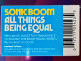 Sonic Boom - All Things Being Equal (Indie-Exclusive Foil )