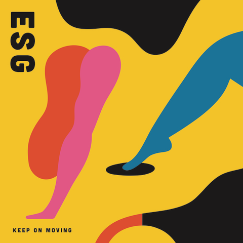 ESG - Keep On Moving (Blue Vinyl)