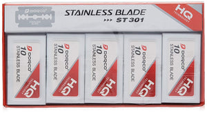 Dorco Platinum Stainless Steel Blades 100 Count ST-301  in stock