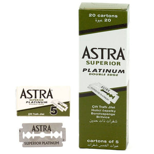 100   Astra  Platinum Double Edge Safety in stock