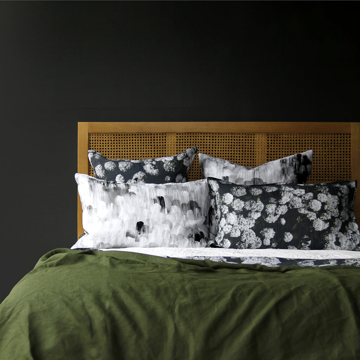 Archie European Linen Pillowcase