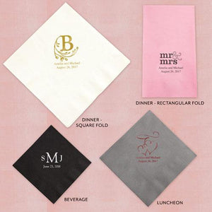 Wedding Personalized Paper Napkins