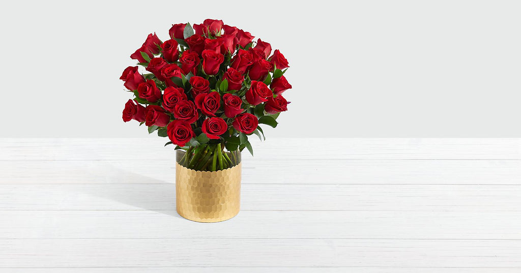 Red Roses Three Dozen Long Stemmed