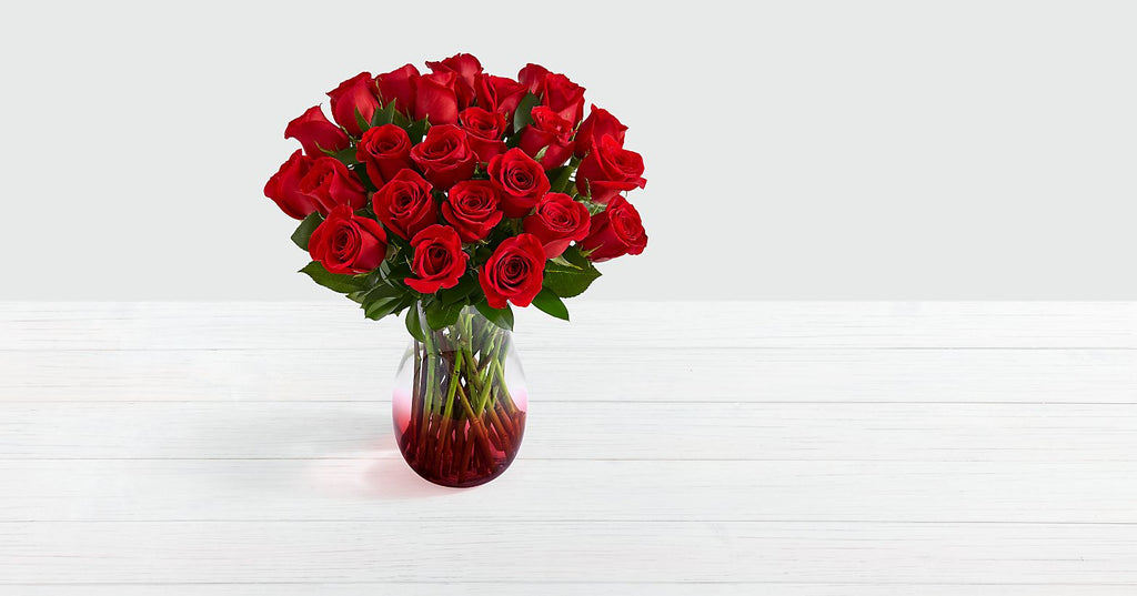 Red Roses Two Dozen Long Stemmed
