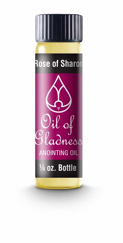 Anointing Oil-Rose Of Sharon-1-4oz