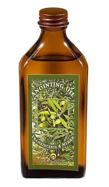 Anointing Oil-Scented Olive Oil For Shofar-8 oz