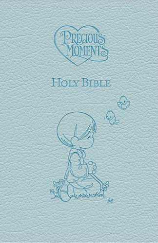ICB Precious Moments Holy Bible-Blue LeatherSoft