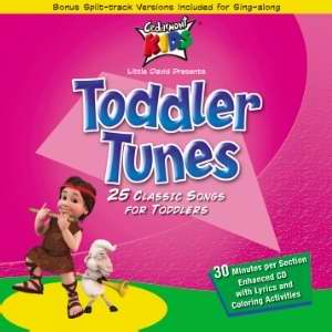 Audio CD-Cedarmont Kids-Toddler Tunes