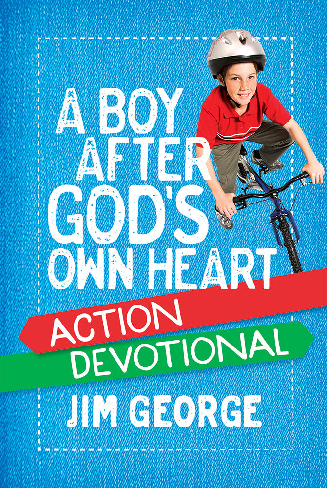 A Boy After God's Own Heart Action Devotional-Hardcover