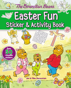 The Berenstain Bears Easter Fun Sticker & Activity Book (Living Lights)