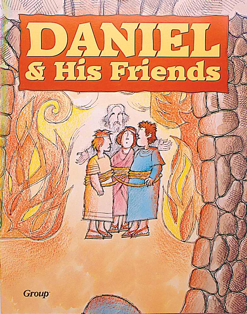 Daniel And His Friends (Bible Big Books)