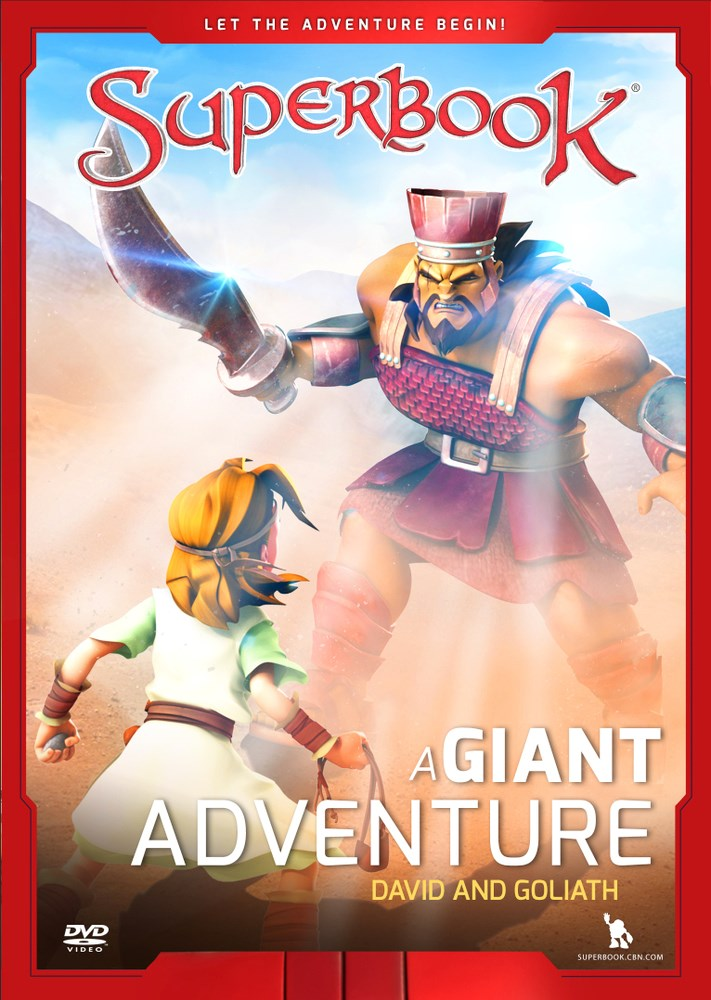 DVD-A Giant Adventure: David And Goliath (SuperBook)