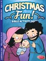 Christmas Fun! Bible Activity Book (Ages 8-10)