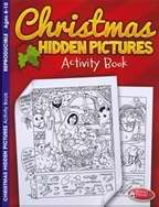 Christmas Hidden Pictures Activity Book (Ages 6-10)