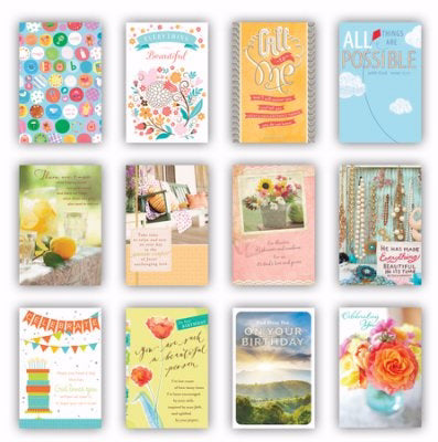 Card-Boxed-All Occasion Variety (Box Of 12)