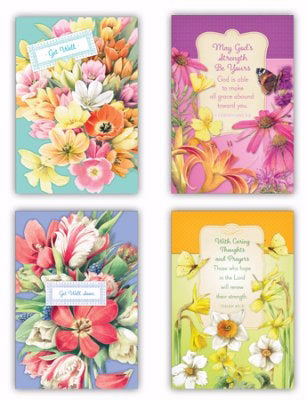 Card-Boxed-Get Well-Marjolein Bastin (Box Of 12)