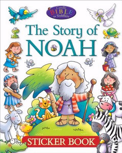 Story Of Noah Sticker Book (Candle Bible For Toddler)