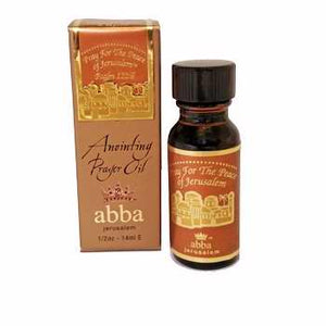 Anointing Oil-Pray For The Peace-Prayer Oil-Frankincense-1-2 Oz