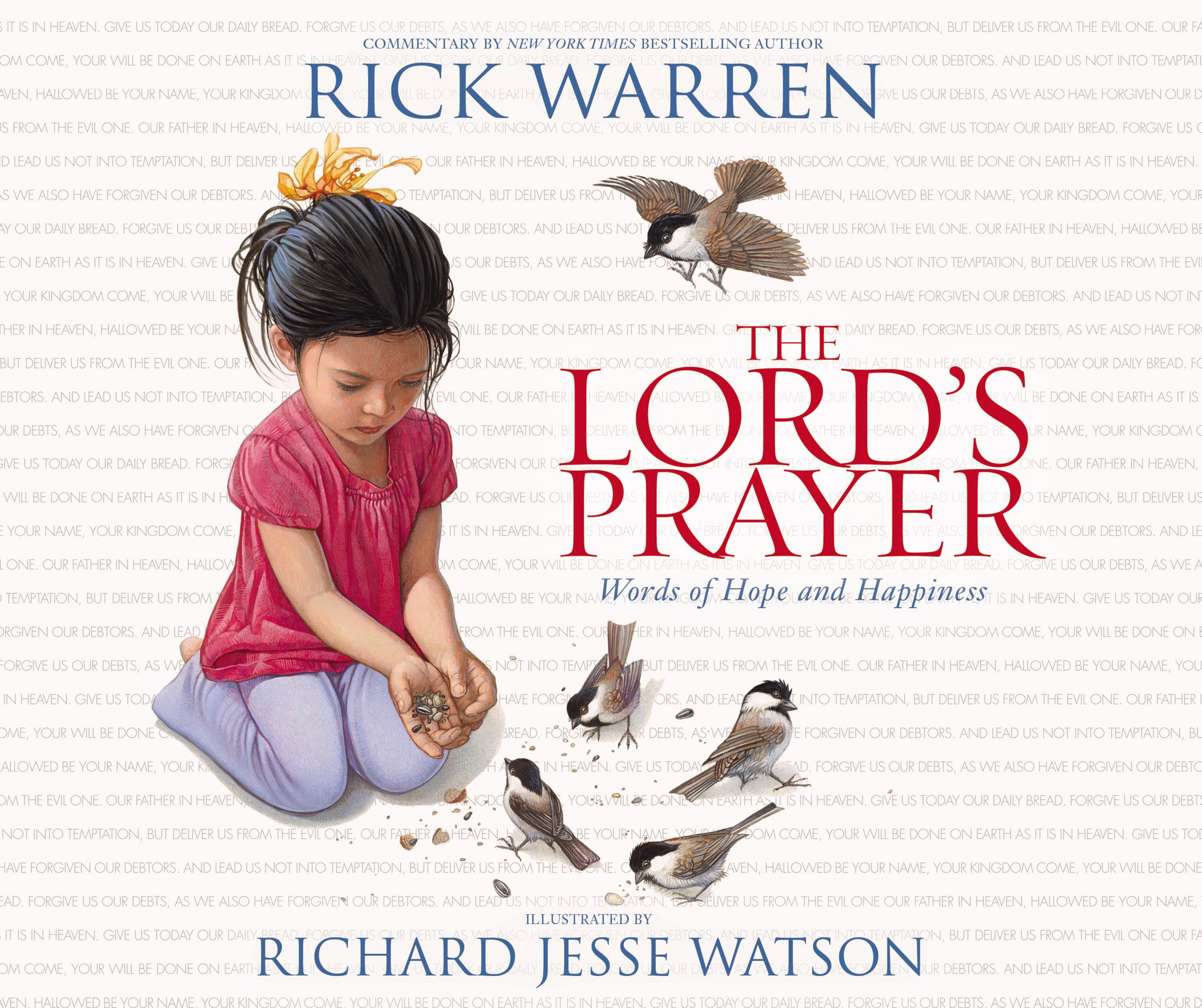 Lord's Prayer: Words Of Hope And Happiness Board Book