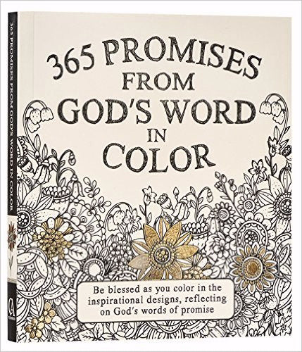 365 Promises From God's Word Adult Coloring Book
