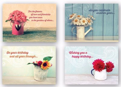 Card-Boxed-Celebrating You Assorted Birthday (KJV) (Box Of 12)