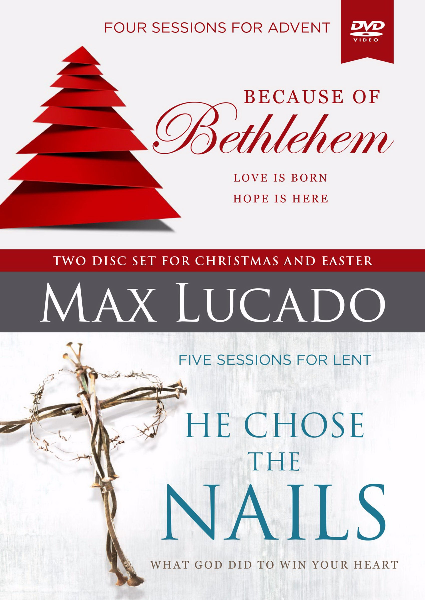 DVD-Because Of Bethlehem-He Chose The Nails: A DVD Study