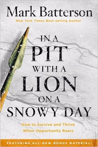 In A Pit With A Lion On A Snowy Day w-Bonus Material