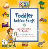 Audio CD-Cedarmont Kids-Toddler Action Songs