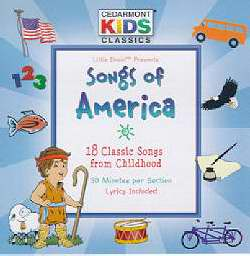 Audio CD-Cedarmont Kids-Songs Of America