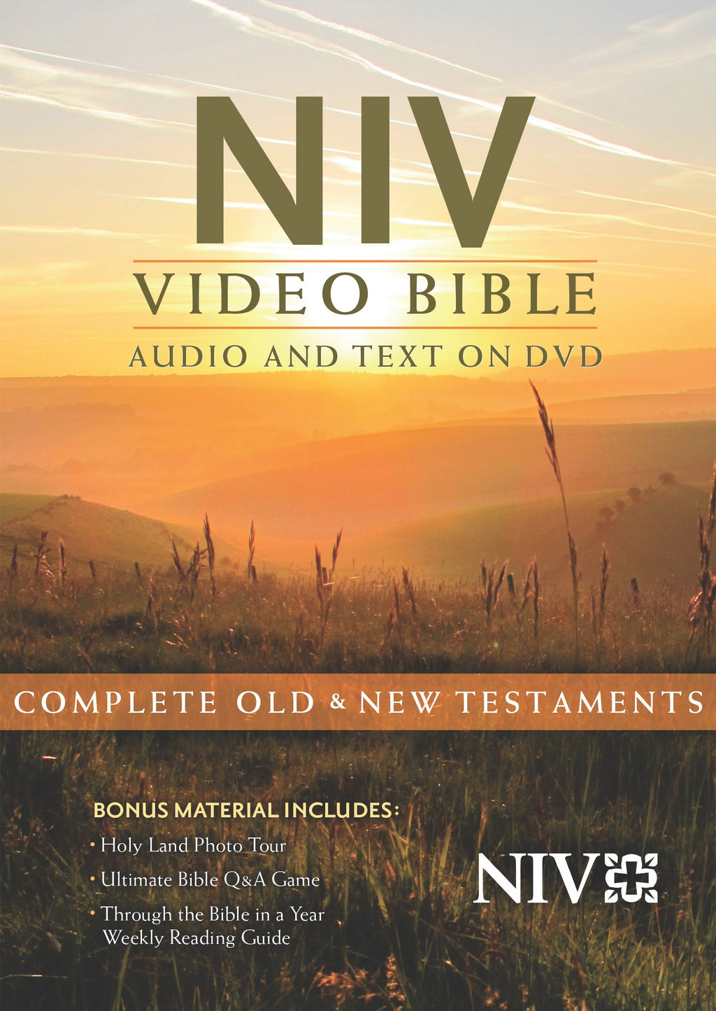 NIV Video Bible: Audio And Text On DVD (Dramatized) (Value Price)