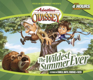 Audio CD-Adventures In Odyssey V02: Wildest Summer Ever (Repack) (4 CD)