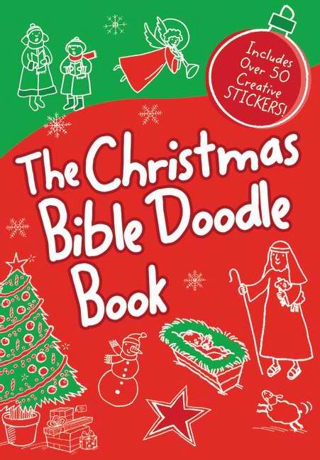 Christmas Bible Doodle Book