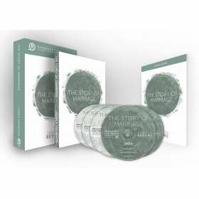 Story Of Marriage Curriculum Kit w-2 DVD-3 CD & Book