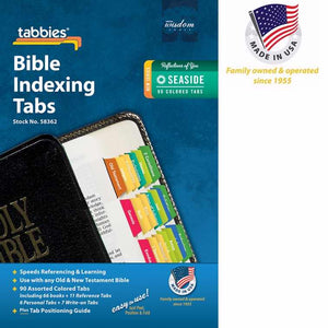 Bible Tab-Standard O&N Testament-Seaside