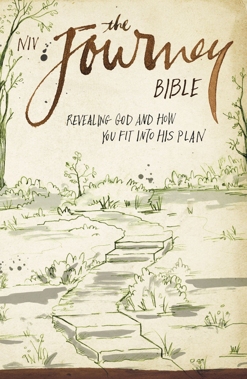 NIV The Journey Bible-Softcover