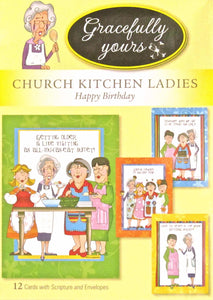 Card-Boxed-Birthday-Church Kitchen Ladies #117 (Boxed-12)