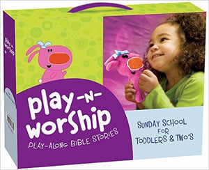 Play-N-Worship: Play-Along Bible Stories For Toddlers & Twos Kit